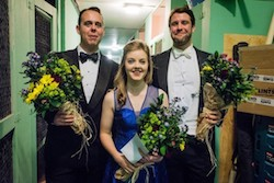 Winners of the Grange singing competition